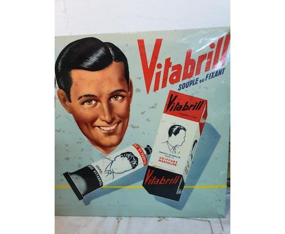 Plaque publicité Vitabrill