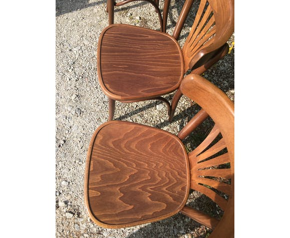 6 chaises bistrot