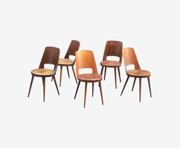 3 bistro chairs Baumann Mondor