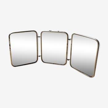 Miroir en fer vintage d 39 occasion for Miroir petit format