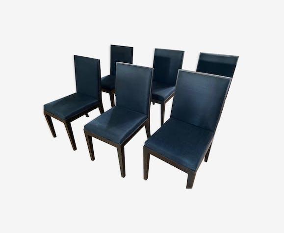 6 chaises Jean-Michel FRANK édition Ecart International