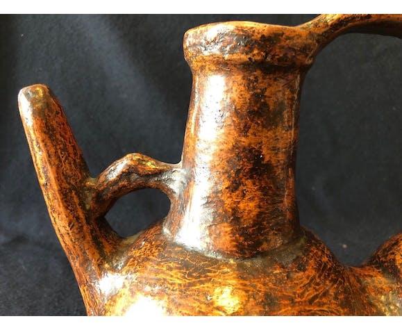 Céramique Berbère double Tabuqalt Grande Kabylie Algérie
