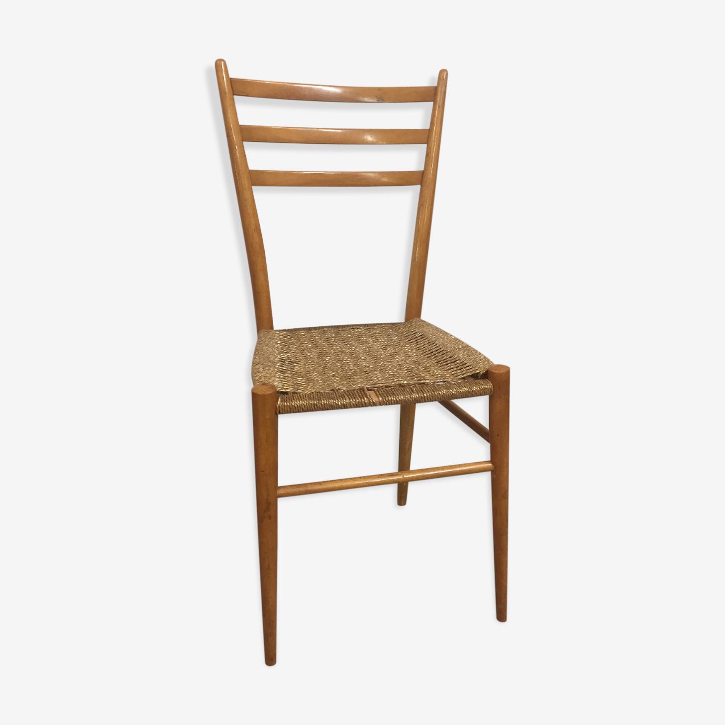 Chair Italian vintage, 1950