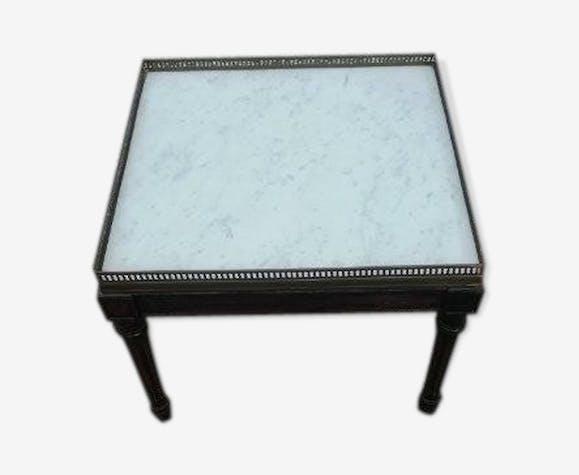 Table basse bouillotte Louis XVI
