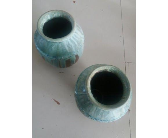 Paire de vases greber