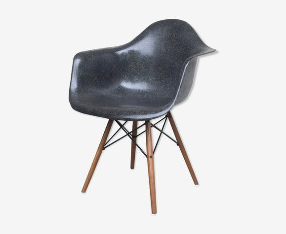 Fauteuil DAW chair par Charles & Ray Eames pour Herman Miller 1960