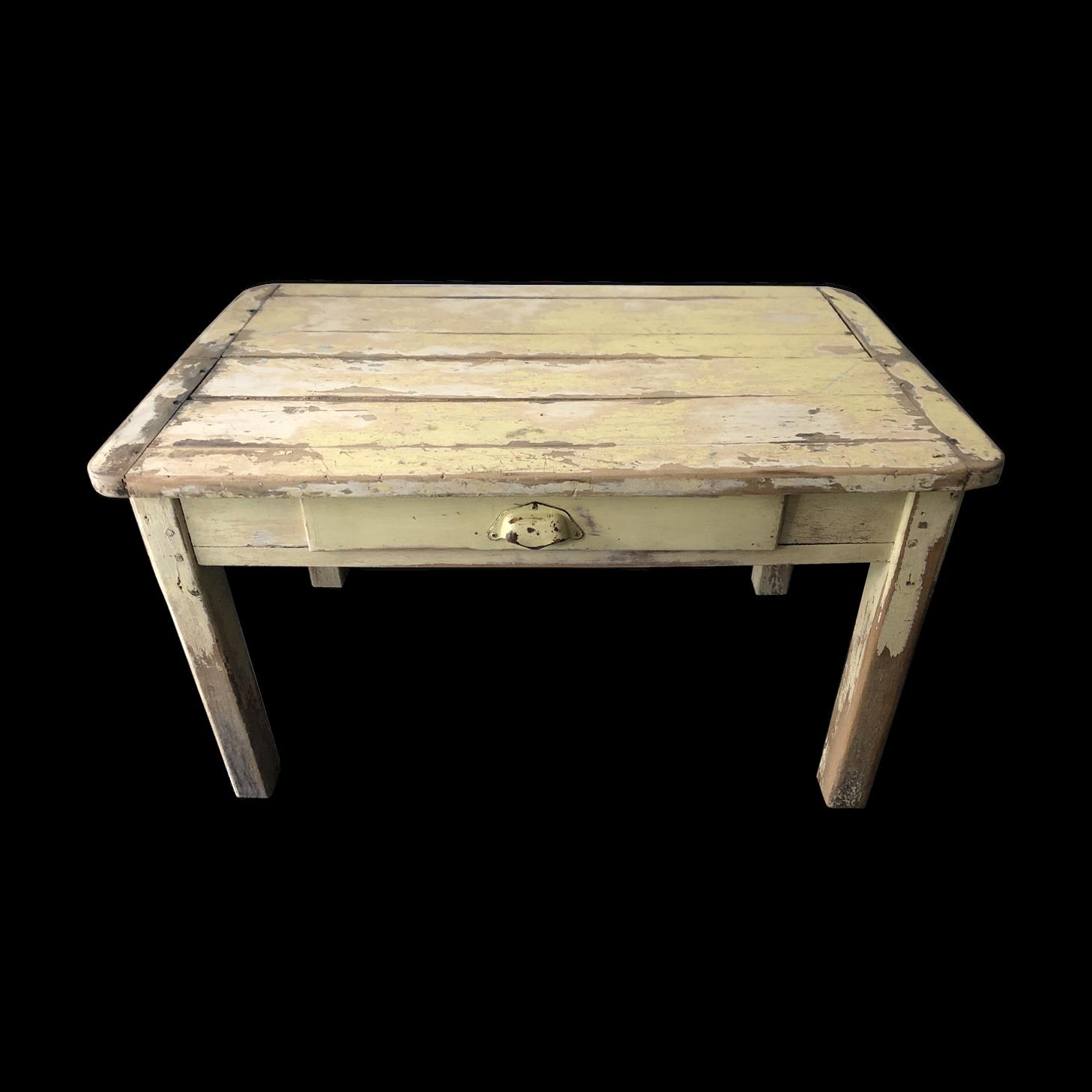 Table Basse De Ferme, Esprit Campagne Chic