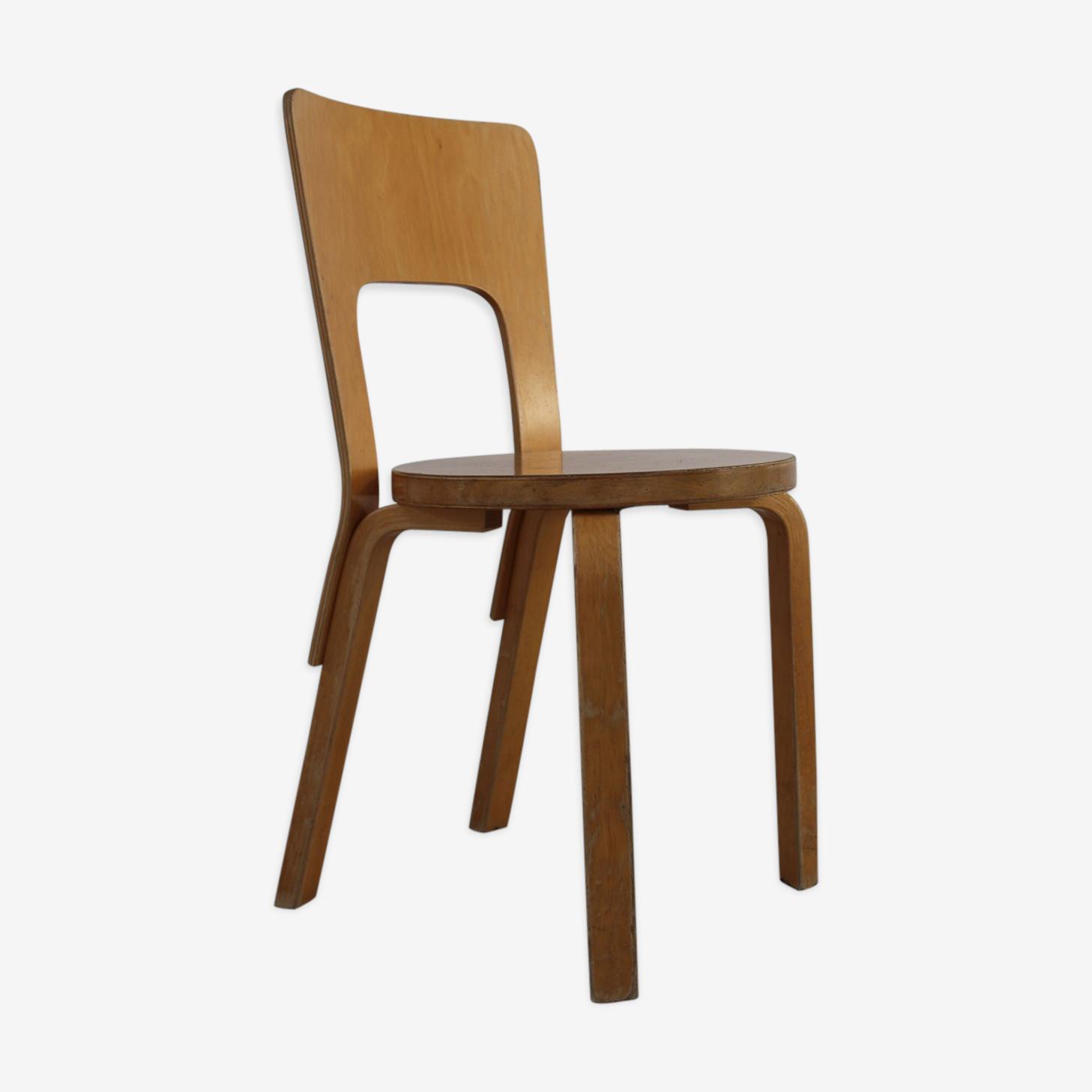 Chaise n°66 Alvar Aalto