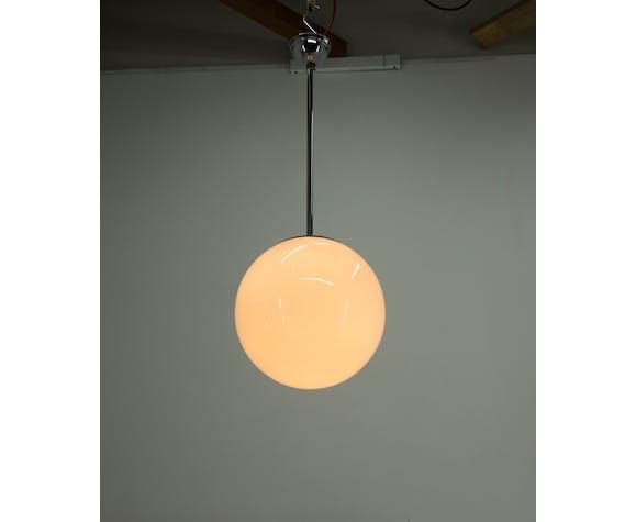 Suspension minimaliste chromé, années 1930