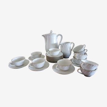 Porcelain tea/coffee service (60s)