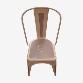 Chaise industrielle française