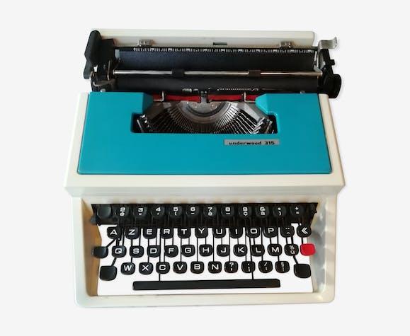 "Underwood typewriter model ""315"""
