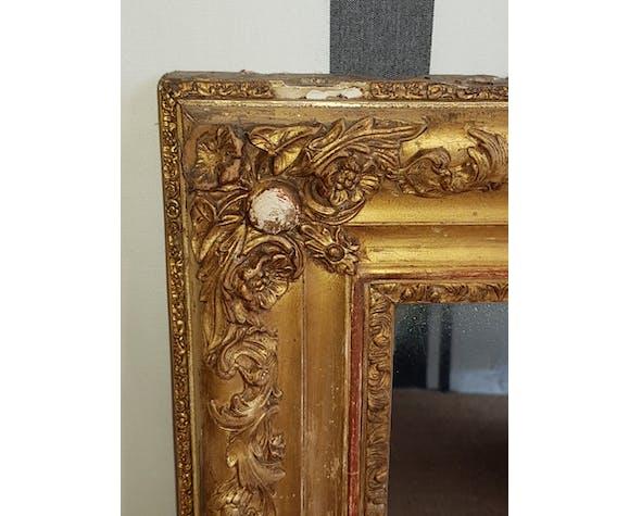 Miroir doré 106x72cm