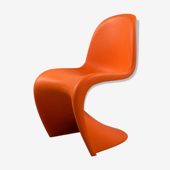 Chaise Panton enfant orange éditions Vitra