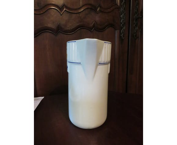 Earthenware Art deco pitcher