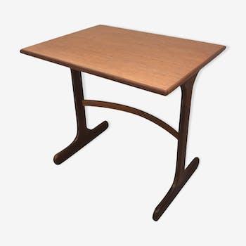 Table en teck vintage