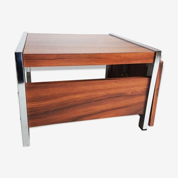 Low chrome and formica table