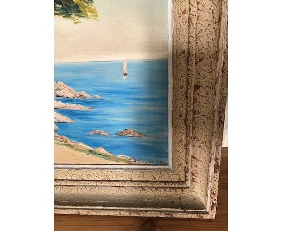 Tableau paysage Côte d'Azur