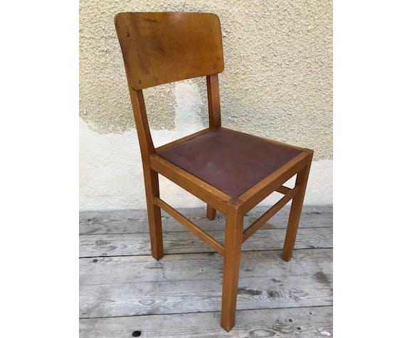 Lot de 3 chaises années 70
