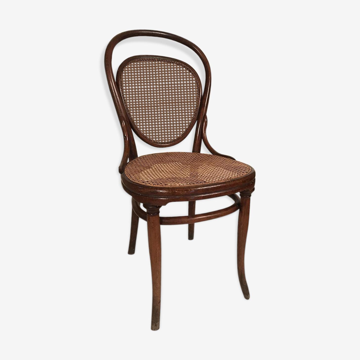 Chaise Thonet, chaise bistrot bois courbé fin XIXe