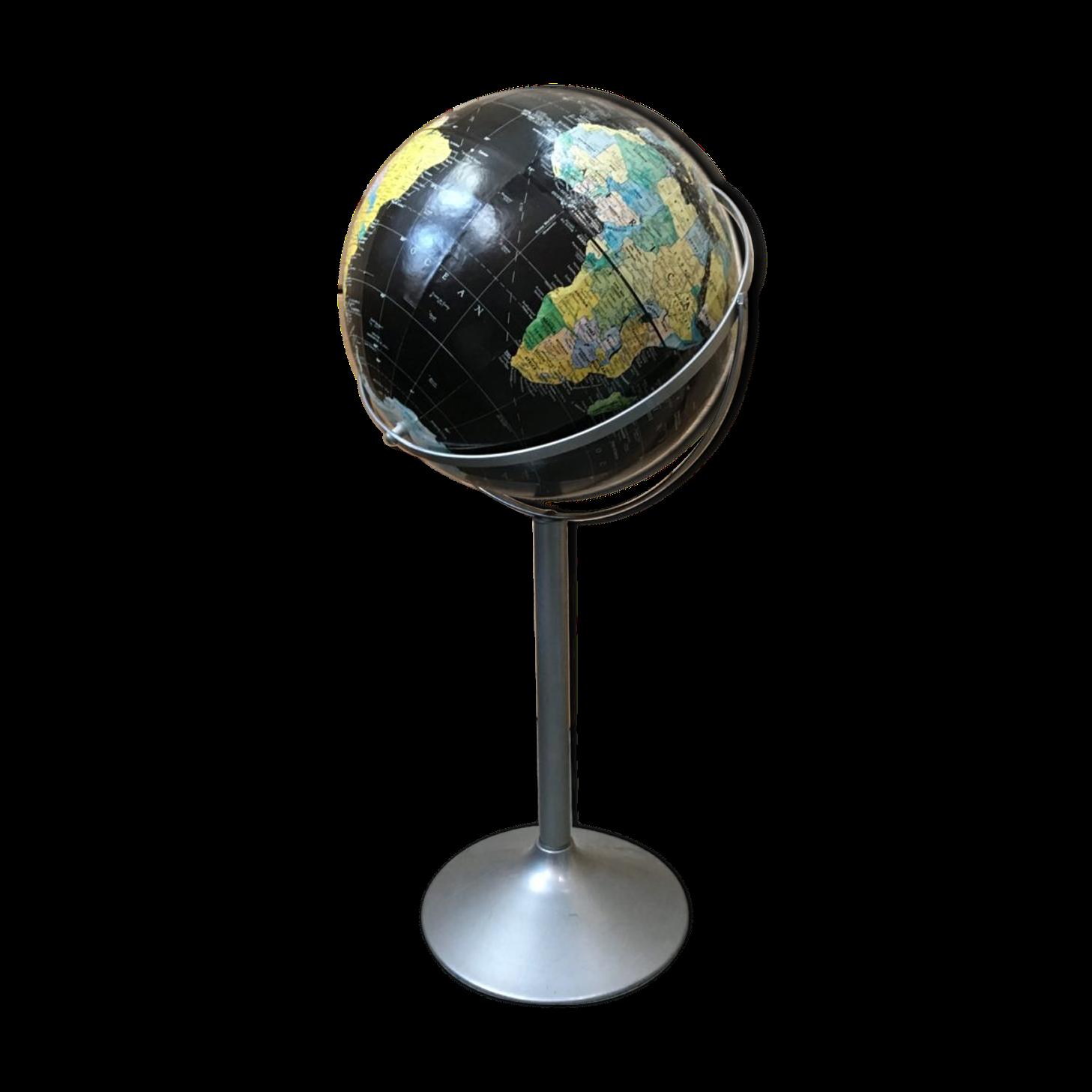 bar globe terrestre mappemonde en bois. Black Bedroom Furniture Sets. Home Design Ideas