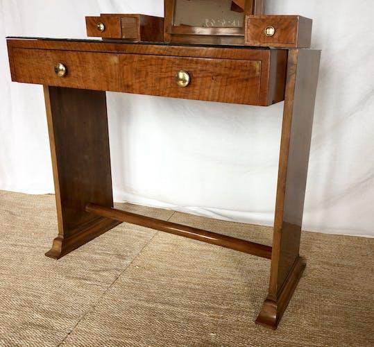 Art deco dressing table mirror