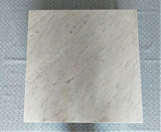 Table basse années 60 marbre années 60 vintage