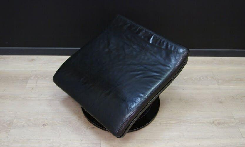 Footrest danish design leather 60 70