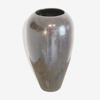 Hervé Wahlen brassware vase