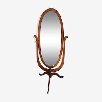 Miroir ovale 122 x 52 cm