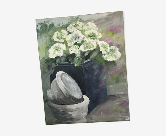 Tableau acrylique sur toile