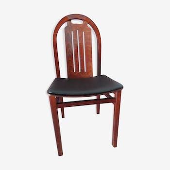 chaise bois et assise corde bois mat riau marron scandinave 37769. Black Bedroom Furniture Sets. Home Design Ideas