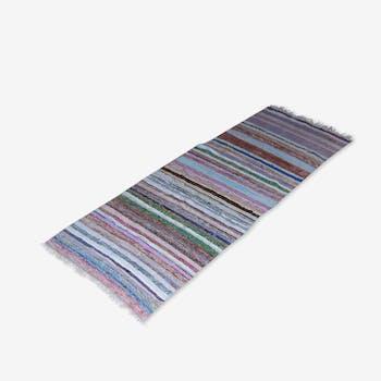 tapis kilim style scandinave 71x61 laine coton multicolore scandinave 94357. Black Bedroom Furniture Sets. Home Design Ideas