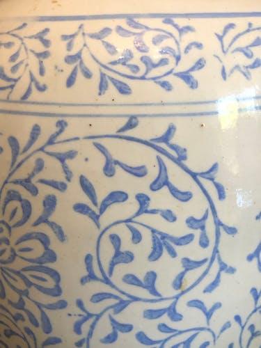 Paire de pots à gingembre XIXe fabriquée en Chine