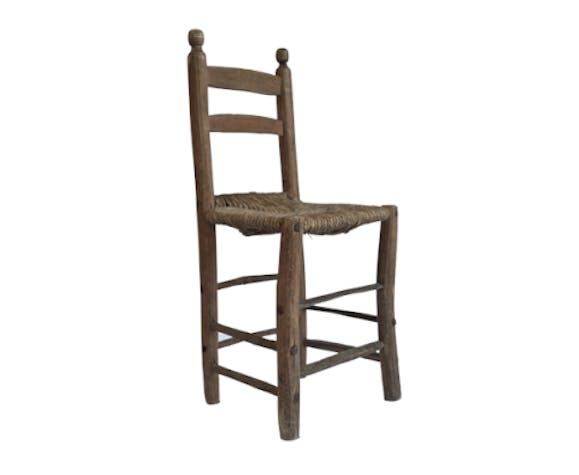 Lot de 4 chaises provencales 1850's