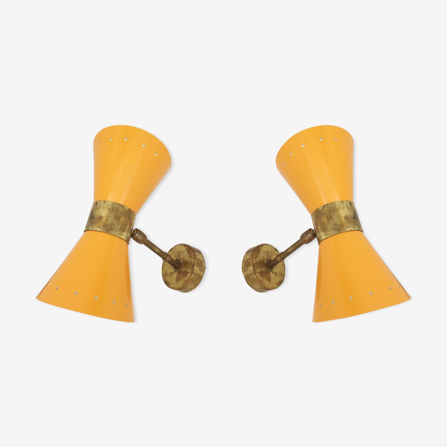Appliques dans le style des créations italiennes des années 50