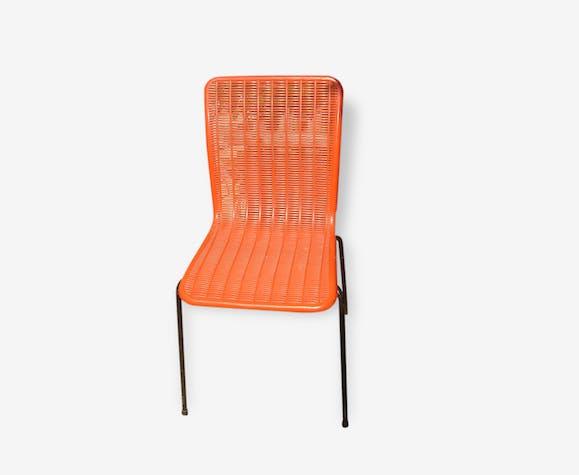 Chaise Plastique Rouge Fantasia