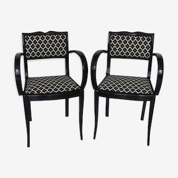 Paire de fauteuils 1920