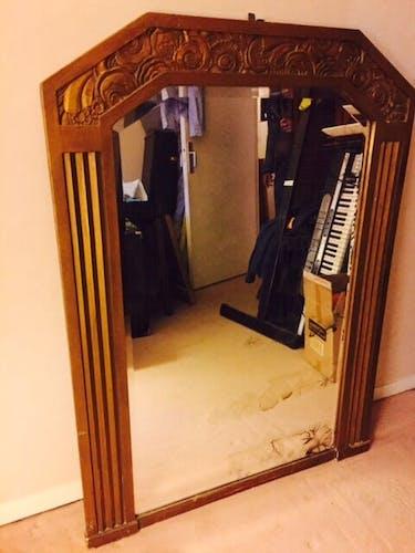 Miroir  art déco 96x130cm