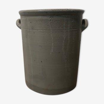 Grey sauerkraut pot