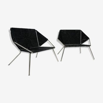 Pair of armchairs vintage design