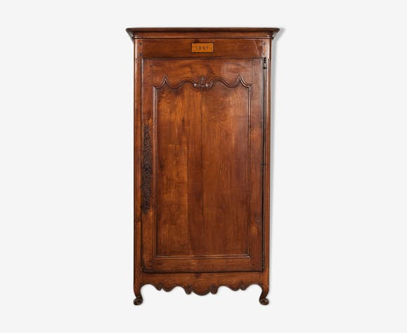 Antique French wardrobe, 1851