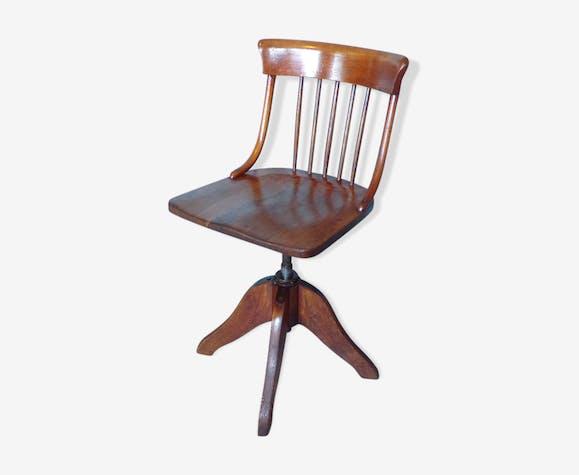 Ancienne Chaise Haute Pivotante Americaine