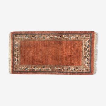 Tapis tibetain fait main 95x185 cm