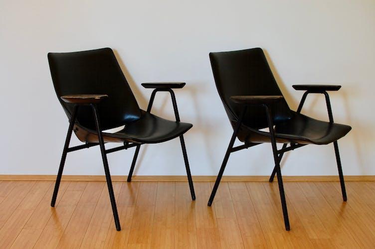 Chaise longue lupina par Niko Kralj, années 1950