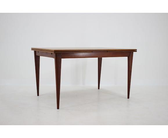 Table en teck 1960s Niels O. M'ller Danemark