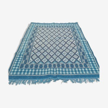 Kilim berbère mergoum fait à la main en pure laine 170 x 255 cm