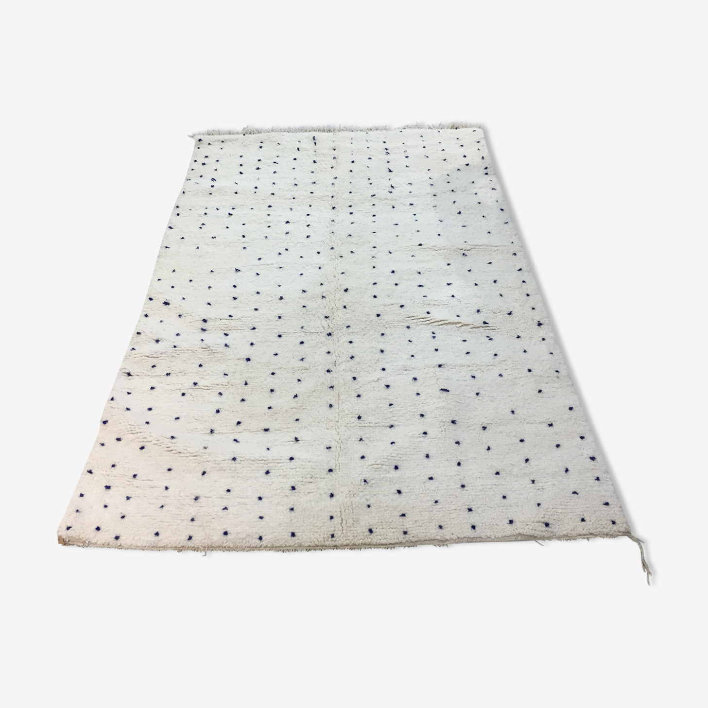 Blessed carpet ouarain blue polka dot 245 x 165