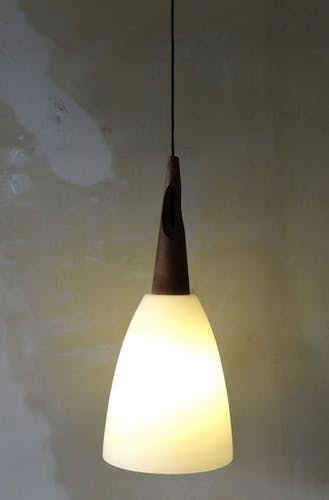 Italy glass mid-century suspension