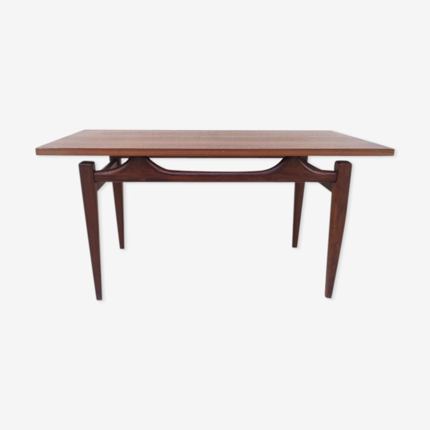 Scandinavian coffee table in teak, 1960